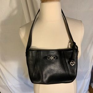 Brighton pebbled leather purse.